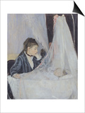 The Cradle Posters by Berthe Morisot