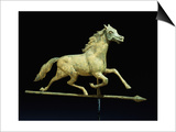 Galloping Horse Weathervane, Circa 1890 Prints by John Bachman