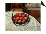 The Basket of Fruit Print by Henri Lebasque