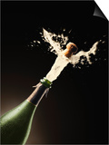 Exploding Champagne Prints by John Gillmoure