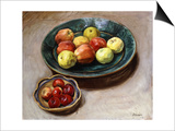 Still-life with Apples Prints by Henri Lebasque