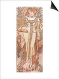 Autumn Prints by Alphonse Mucha