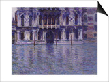 The Contarini Palace, 1908 Print by Claude Monet