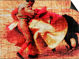 San Miguel, Bullfight No.1 Posters by Doug Landreth
