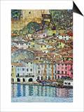 Malcena At The Gardasee Poster by Gustav Klimt