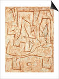 Latomie Prints by Paul Klee