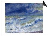 Seascape, 1879 Poster by Pierre-Auguste Renoir