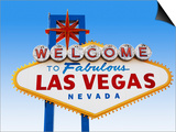 Las Vegas Welcome Road Sign Posters by  Beathan