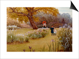 A Walk in the Garden Prints by Frederick Hamilton Jackson