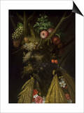 The Four Seasons Posters by Giuseppe Arcimboldo