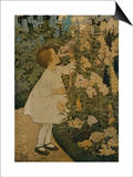 The Senses: Smell Poster by Jessie Willcox-Smith