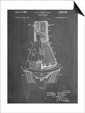 Space Capsule, Space Shuttle Patent Print