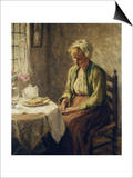 Grace before the Meal Prints by Evert Pieters