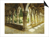 Cefalu Cloisters, Sicily, 1911 Posters by Josef Theodor Hansen