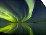 Aurora Borealis over Lake Thorisvatn Posters