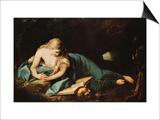 Saint Mary Magdalen Plakater af Anton Graff