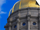Dome of Georgia State Capitol Poster by William Manning