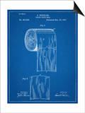 Toilet Paper Patent Print