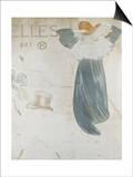 Frontispiece Pour Elles Láminas por Henri de Toulouse-Lautrec