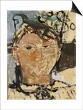 Portrait de Picasso, 1915 Plakater af Amedeo Modigliani