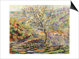 House in the Countryside Prints by Armand Guillaumin