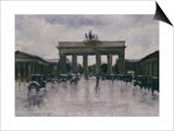 The Brandenburg Gate Posters by Lesser Ury