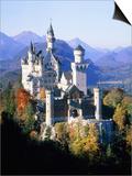 Neuschwanstein Castle in autumn, Bavaria, Germany Prints by Herbert Spichtinger