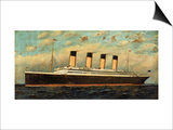 The Titanic, 1911 Print by  Adler & Sullivan