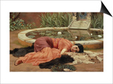 Dolce Far Niente Prints by John William Godward
