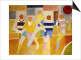 The Runners Plakater af Robert Delaunay