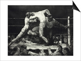 A Stag at Sharkey's Prints by George Wesley Bellows