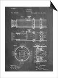 Telescope Vintage Patent 1891 Prints