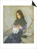 The Precious Book Prints by Gwen John