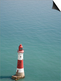 The Lighthouse at Beachy Head Posters by Michael Jenner