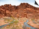 Rural Trail Through Desert Art by  Beathan