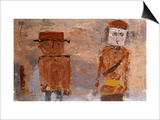 Bride and Groom in Autumn of Life Posters by Paul Klee