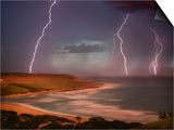 Thunderstorm Over Mdumbi Estuary Prints by Jonathan Hicks