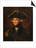 A Portrait of Horatio, Lord Nelson (1758-1805) Art by Lemuel Francis Abbott (Follower of)
