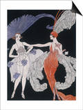 The Purchase Posters by Georges Barbier