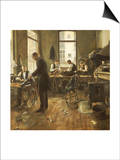 The Tailors Prints by Leon Bartholomee