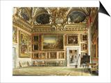 Interiors of the Palazzo Pitti, Florence Prints by Domenico Caligo