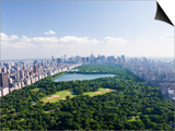 Aerial View of Central Park Print by Cameron Davidson