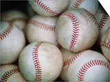 Baseballs Prints by Jim Richardson