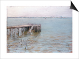Long Island Pier Prints by William Merritt Chase