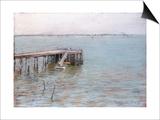 Long Island Pier Prints by William Merritt Chase