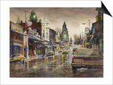 Street Lights Prints by LaVere Hutchings