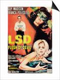 Lsd: Flesh of the Devil Posters