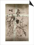 Tightrope Walker Print by Paul Klee