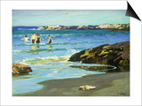 Low Tide Posters by Edward Henry Potthast