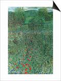 Garden Landscape Art by Gustav Klimt